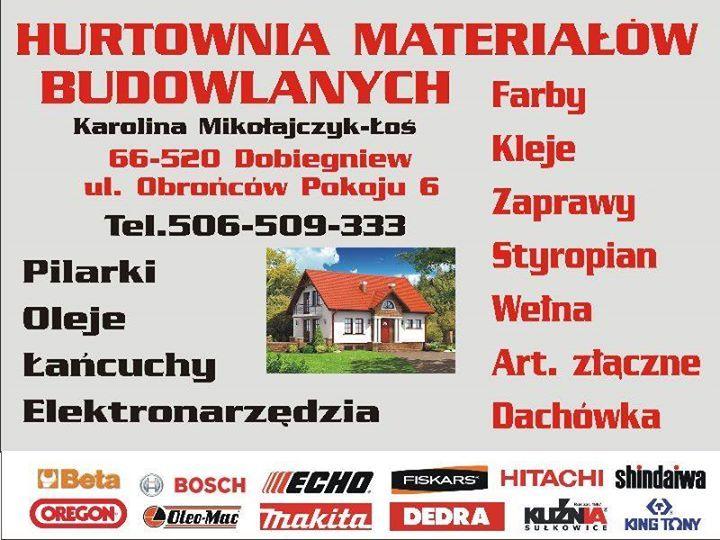 Hurtownia budowlana Dobiegniew